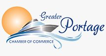 Greater Portage Chamber of Commerce logo