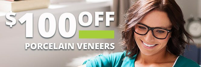 Porcelain veneers special coupon